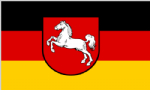 Lower Saxony Large State Flag 5' x 3'